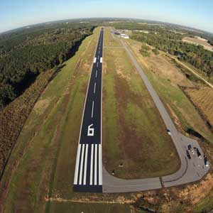 Airport Runway Striping