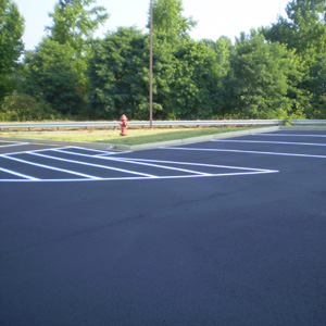 Parking Lots Striped for Safety